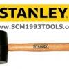 Stanley สแตนลีย์ ค้อนยาง ด้ามไม้ ( Rubber Mallet )
