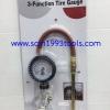 BRP เกจวัดลม เติมลม แรงดัน 220 psi 3-FUNCTION TIRE GAUGE,INFLATOR & DEFLATOR