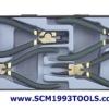 Force ฟอร์ซ ชุดคีมหนีบ คีมถ่าง 4 ชิ้น รุ่น 5043A-4 pieces snap ring plier set