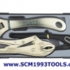 Force ฟอร์ซ ชุดประแจเลื่อน คีมล็อค 3 ชิ้น ร่น 5038-3 pieces wrenches,plier set
