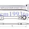 KINGTONY คิงโทนี่ รุ่น 3730 ประแจแหวนข้างปากตาย ฟรีสปีด อ่อนตัว Flexible Open-Ended and Ratchet Ring Wrench