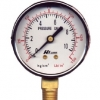 HILIGHT ไฮไลท์ เกจวัดแรงดัน pressure gauge หน้าปัด 2.5 นิ้ว 2 หุน BSPT