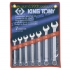 KINGTONY คิงโทนี่ 1207MR ประแจแหวนข้างปากตาย 7 ตัวชุด 10-19 มม. Combination Wrench Set