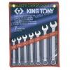 KINGTONY คิงโทนี่ 1207SR ประแจแหวนข้างปากตาย 7 ตัวชุด 3/8-3/4 นิ้ว Combination Wrench Set