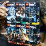0268-0273 Batman มินิฟิกเกอร์แบทแมนในชุดเกราะแบบต่างๆ เซ็ต 6 กล่อง