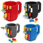 Brick Mug แก้วน้ำพลาสติกเลโก้ ขนาด 350 มิลลิลิตร