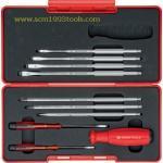 PB Swiss Tool พีบีสวิสทูล รุ่น PB8215 ไขควงชุด 10 ชิ้น บรรจุกล่อง Screwdriver Set