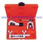 "Coolmax รุ่น CM-1226-AL ชุดบานแป๊ป (3/16""-5/8"") พร้อมคัตเตอร์ตัดท่อ + ลูกบานท่อ 2 ชั้น tube flaring tool"