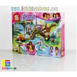 SY831 Friends ชุดแค้มปิ้ง Olivia และ Andrea แข่งขันผจญภัยล่องแก่ง