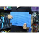 8804BL แผ่น Plate ขนาด 45x22.5 Cm.สีน้ำเงิน