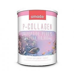 Amado P-Collagen Tripeptide Plus C 110,000 Mg. แพ็คเกจใหม่ [VIP 590 บาท]