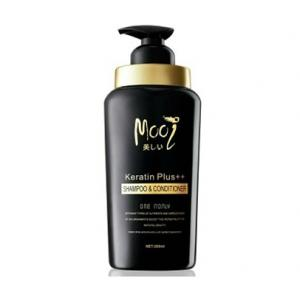 Mooi Keratin Plus++ Shampoo & Conditioner แชมพู โมอิ [VIP 510 บาท]