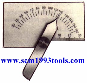 จานวัดมุมดอกสว่าน แบบสี่เหลี่ยม เยอรมัน JAEGERTOOLS No.380 เยอรมัน คุณภาพดี Drill Point Gauge