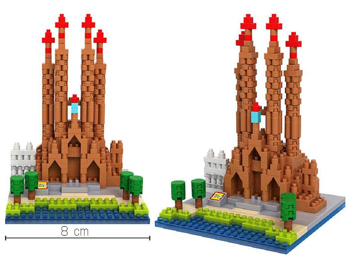 มินิบล็อก LOZ เลโก้จีน 9382 ราคาถูก Sagrada Familia ขนาด