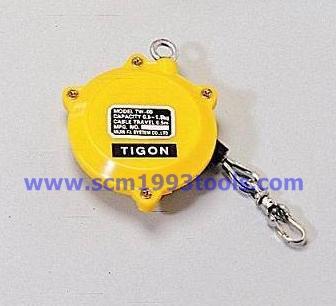 Tigon ไทกอน รุ่น TW-00 สปริงบาลานเซอร์ รอกสปริง 0.5-1.5 kg. Spring Balancer