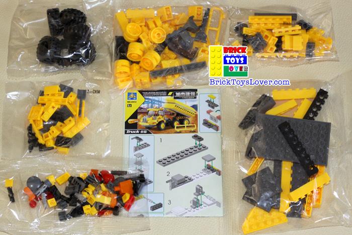 Construction 8043 Truck ของเล่น Parts