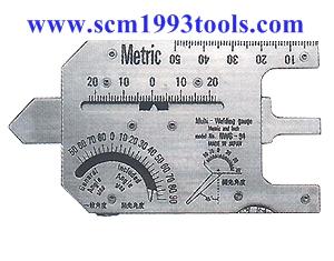 เกจวัดรอยอ๊อก เกจวัดแนวเชื่อม รุ่น NWG-94 ญี่ปุ่น Multi-Welding Gauge (metric)