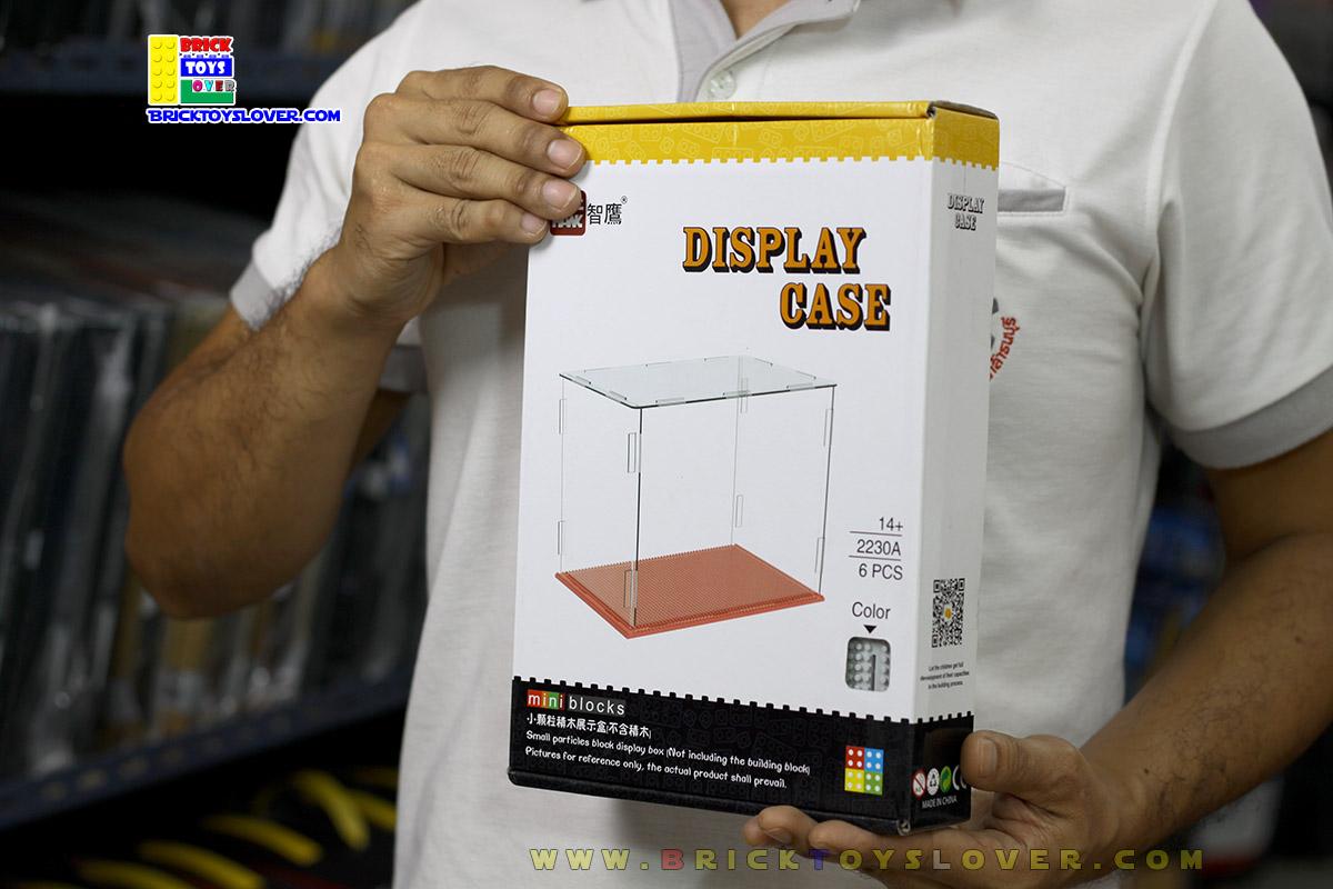 2230A กล่องโชว์ Display Case ขนาดกลาง สำหรับใส่ตัวต่อมินิบล็อก นาโนบล็อก