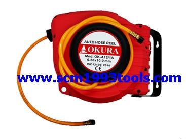 Okura รุ่น OK-A12 ตลับเก็บสายลมอัตโนมัติ 12 เมตร Automatic Hose Reel