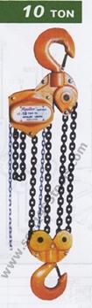 Hipuller ไฮพูลเลอร์ รอกโซ่ 10 ตัน ญี่ปุ่น รุ่นเหล็กกล้า LC series CHAIN BLOCK