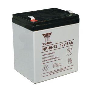แบตเตอรี่แห้ง 12V 5Ah NPH5-12 Yuasa SLA Battery Lead Acid VRLA AGM