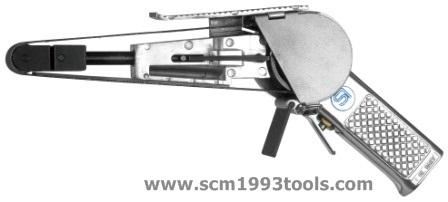 Shinano ชินาโน่ รุ่น SI-2800 เครื่องขัดกระดาษทรายสายพาน 20 mm. ญี่ปุ่น BELT SANDERS