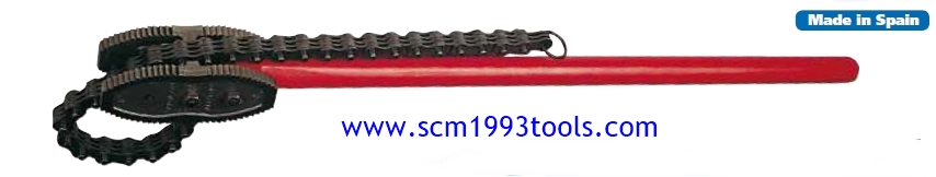 SUPER-EGO ประแจโซ่ ถอดแป๊ป งานหนัก 8 นิ้ว type 103 Tongue Chain Wrench