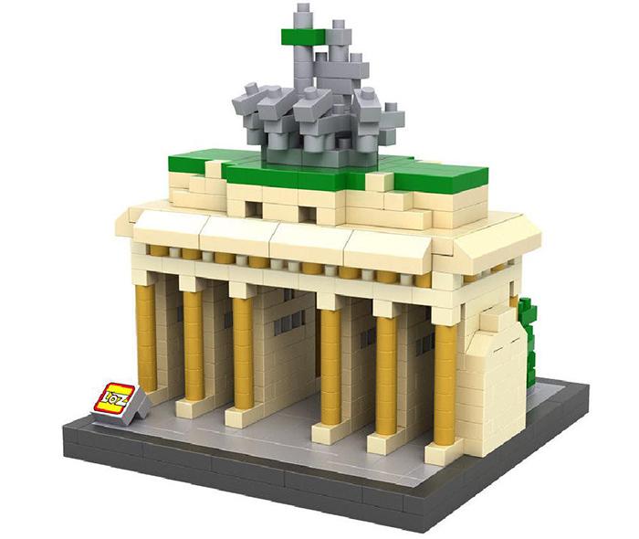 มินิบล็อก LOZ เลโก้จีน 9385 ราคาถูก Brandenburg Gate ISO