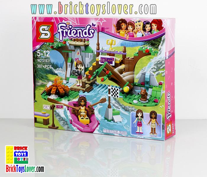 Friends ชุดแค้มปิ้ง Olivia และ Andrea แข่งขันผจญภัยล่องแก่ง