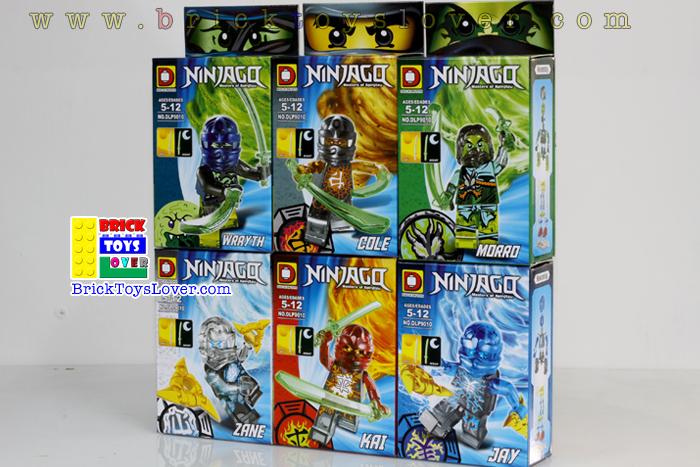 Ninjago มินิฟิกเกอร์ แบบใส