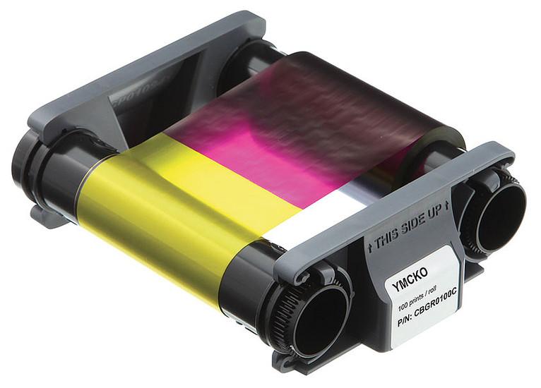 หมึกพิมพ์ เครื่องพิมพ์บัตร Evolis สำหรับ พิมพ์ Badgy100 และ Badgy 200 (พิมพ์ได้ 100ใบ)