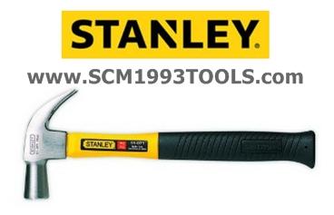 Stanley สแตนลีย์ ค้อนหงอน ด้ามไฟเบอร์ ( Fiberglass Nail Hammer )