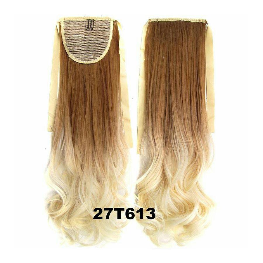 Ombre Curly Ribbon แบบลอน สี 27T613