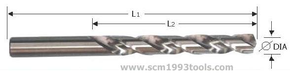 OSBORN ออสบอร์น ดอกสว่านไฮสปีด โคบัลท์ COBALT เจาะสแตนเลส HSS DRILL BITS มิลลิเมตร