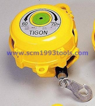 Tigon ไทกอน รุ่น TW-70 สปริงบาลานเซอร์ รอกสปริง 60.0-70.0 kg. Spring Balancer