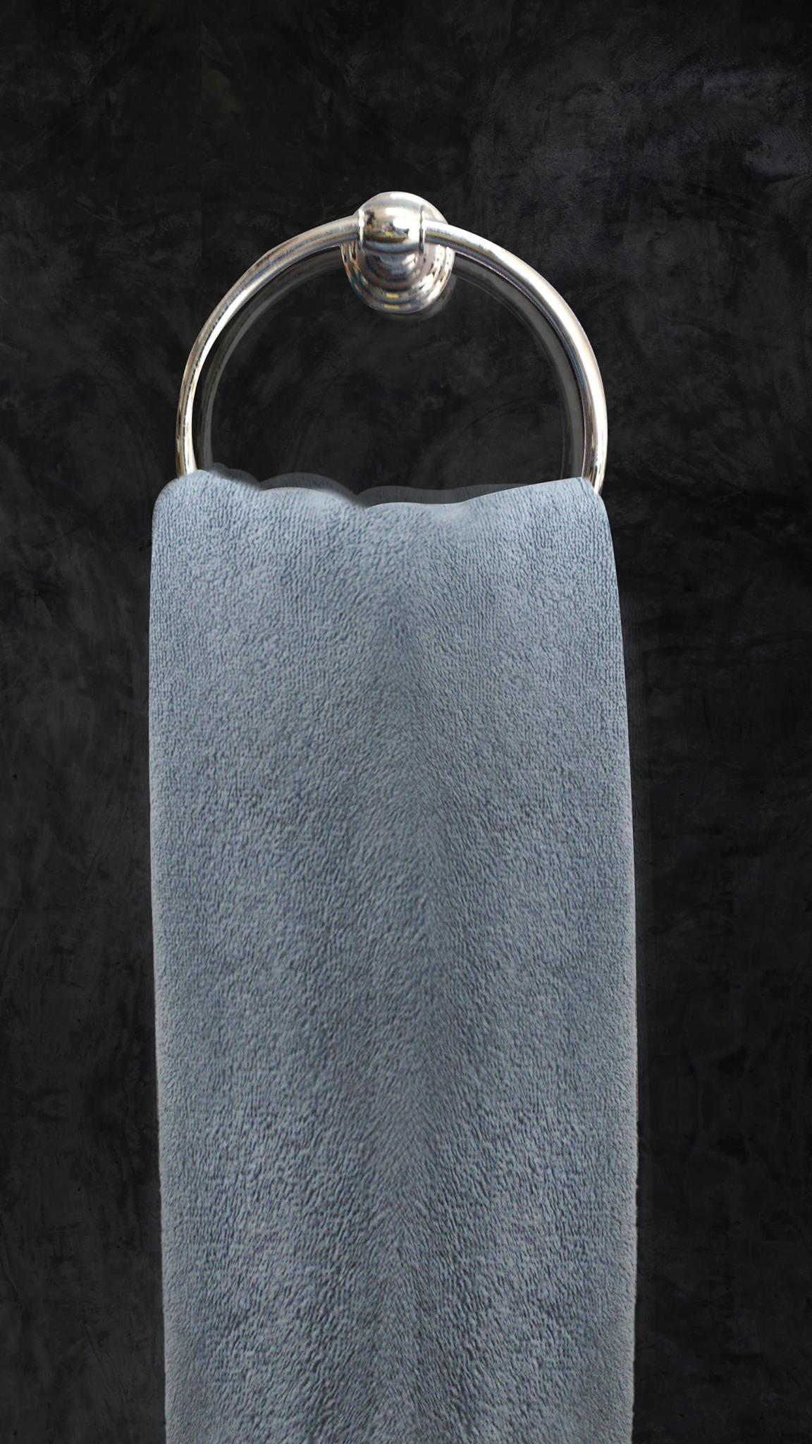 ผ้าขนหนู-สีเทา 24.5 p. (12 pcs./pack) STK_TWLG006