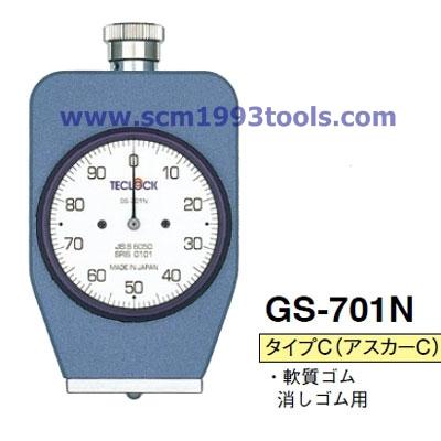 TECLOCK เทคลอค เกจวัดความแข็งยาง รุ่น GS-701N Durometer Rubber & Plastic Hardness Tester