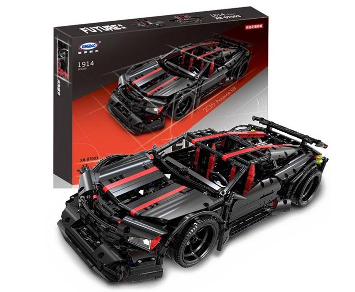 XB-07003 ของเล่นตัวต่อ Future Car รถแข่ง Assassin X-19