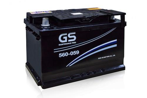 ราคา แบตเตอรี่รถยนต์ GS LBN3-MF 12V 60Ah CCA 18 แผ่น