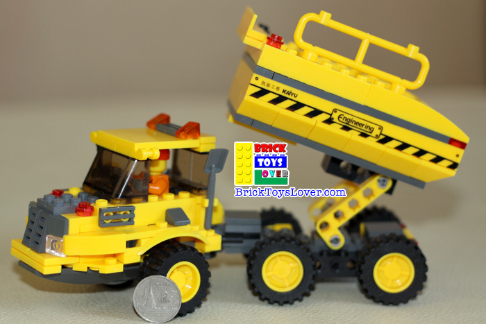 Construction 8043 Truck Assembly ของเล่น