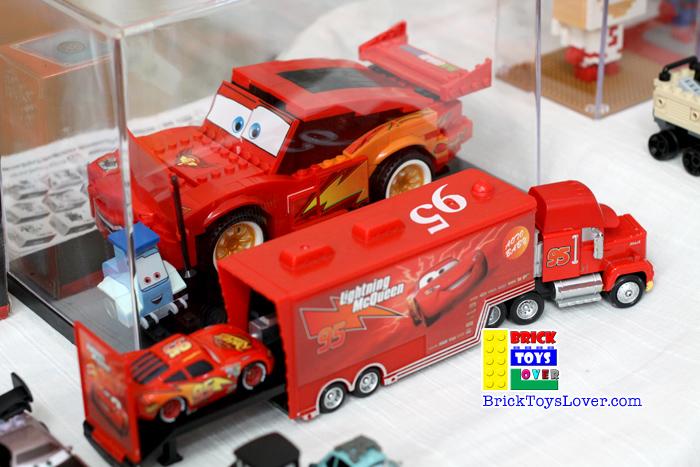 ตัวต่อ Lightning Mcqueen ของเล่น ตัวต่อ เลโก้จีน ราคาถูก เชียงใหม่ www.bricktoyslover.com
