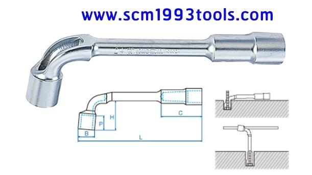 KINGTONY รุ่น 1080 ประแจบ็อกตัวแอล 2 หัว Socket Wrench