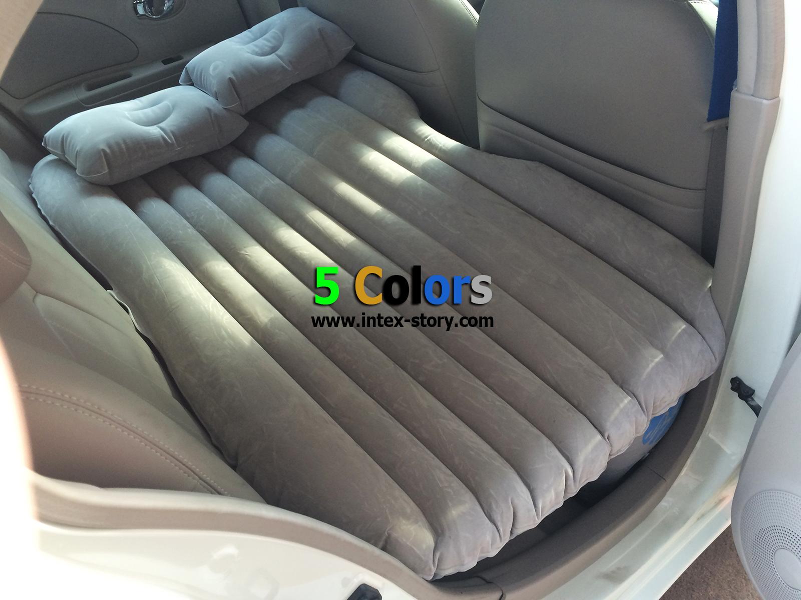 ที่นอนในรถ เบาะนอนในรถ (สีเทา)