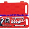 "Coolmax รุ่น CM-278-AL ชุดบานแป๊ป (3/16""-3/4"") พร้อมคัตเตอร์ตัดท่อ tube flaring tool"