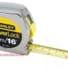 Stanley สแตนเล่ย์ ตลับเมตร รุ่น PowerLock ชุบโครเมี่ยม 5 เมตร (16 ฟุต) No. 33-158 Tape Rule
