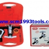 "Coolmax รุ่น CM-808-AL ชุดบานแป๊ป (3/16""-3/4"") ใช้ R-410 พร้อมคัตเตอร์ตัดท่อ + รีมเมอร์ tube flaring tool"