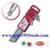 EIGHT รุ่น TXB-S8 ประแจขาวยาว ตัวแอล หัวท็อก 8 ตัวชุด ญี่ปุ่น Torque Ball Wrench