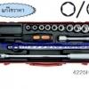KOKEN-4225M+C บล็อกชุด 14 ชิ้น (มิล) ในกล่องเหล็ก ลูกบ๊อก 12p SOCKET SET
