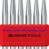 PB Swiss Tool พีบีสวิสทูล รุ่น PB-755-BL เหล็กส่งชุด Set of drift punches, flat tip, octagonal, in a handy plastic holder