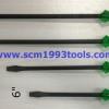 CHAMPION แชมเปี้ยน ไขควงแกนดำทะลุ ปากแบน 6-8-10-12 นิ้ว ของแท้ ญี่ปุ่น screwdriver